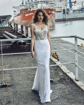 Elbeth Gillis bridal gown Giselle