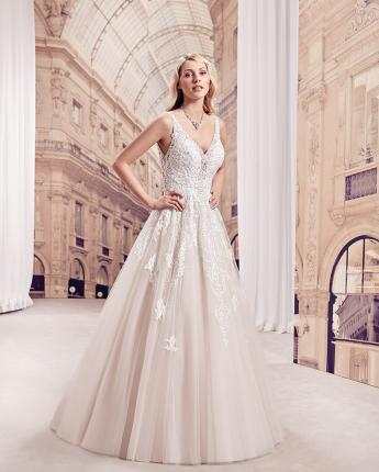 Eddy K Milano wedding dress MD297
