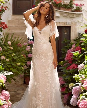 Madi Lane Misha bridal gown