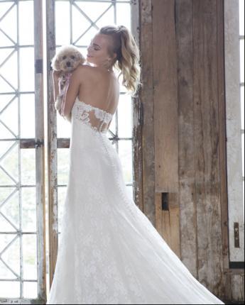 Sweetheart wedding dress 1121