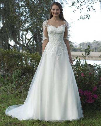 Sweetheart wedding dress 6191