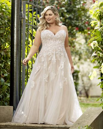 Sophia Tolli wedding dress style Y11949 Plus