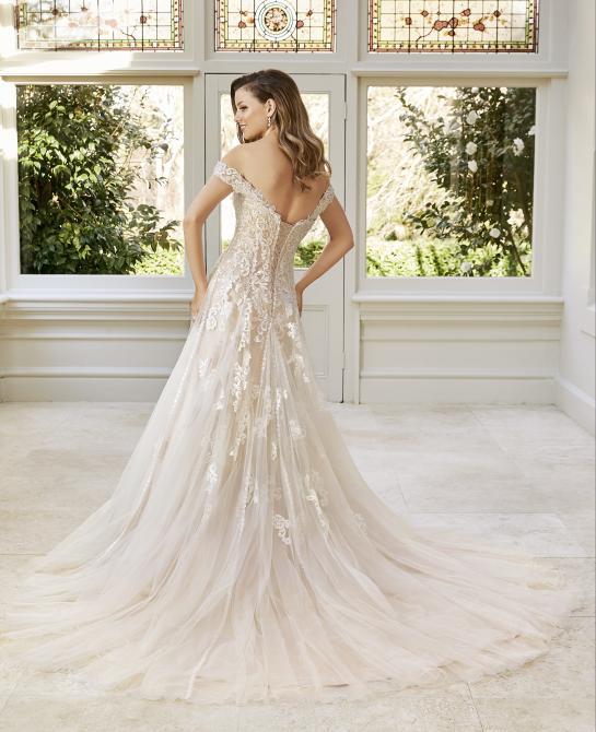 Sophia Tolli, Wedding dress, Y11949, back image