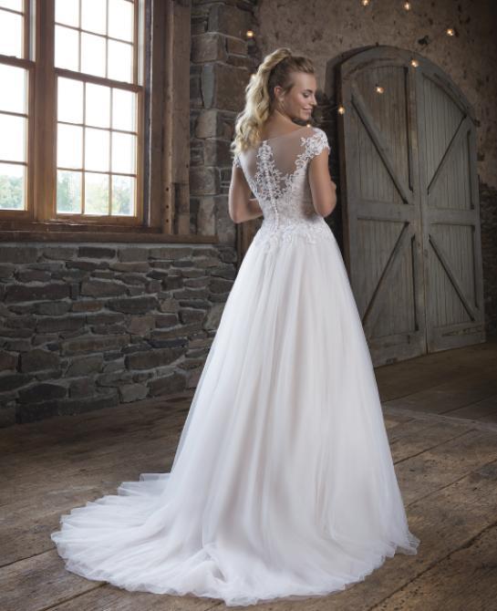 Sweetheart wedding dress style 1119