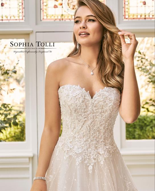 Sophia Tolli wedding dress style Y11940