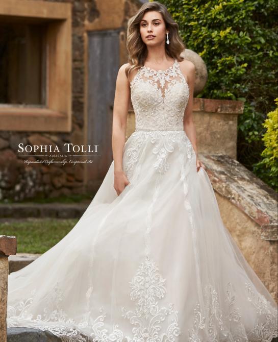 Sophia Tolli bridal gown Y11948
