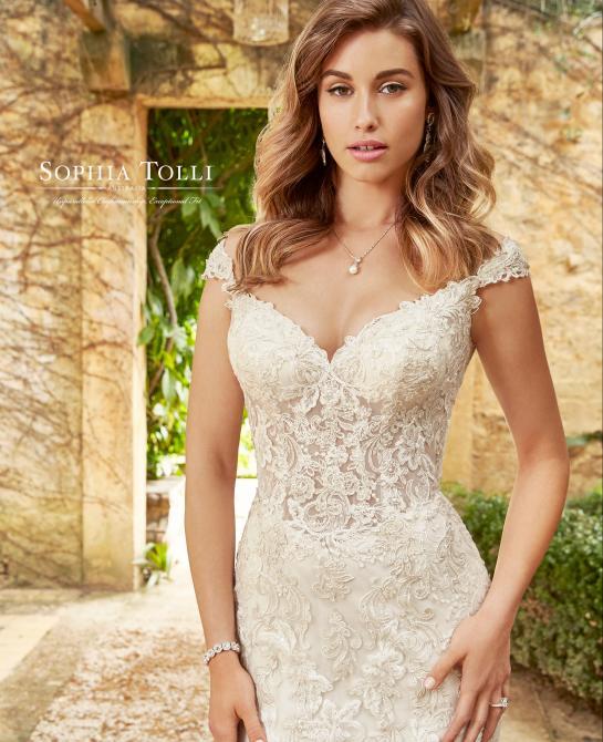 Sophia Tolli wedding dress style Y11954