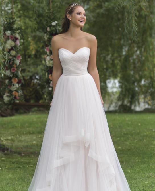 wedding dress by sweetheart style 6158